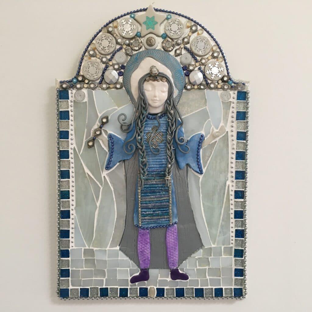 Image of the Slavic Goddess Marzanna